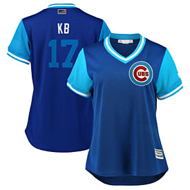 Chicago Cubs Kris Bryant Ladies 2018 Players Weekend Replica Cool Base Jersey