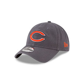 Chicago Bears Youth Graphite Core Classic Cap Adjustable