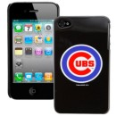 Chicago Cubs iPhone 4 Black Shell Case