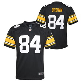 Pittsburgh Steelers Antonio Brown Youth Alt Game Replica Jersey
