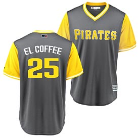 Pittsburgh Pirates Gregory Polanco 2018 Players Weekend Replica Cool Base Jersey