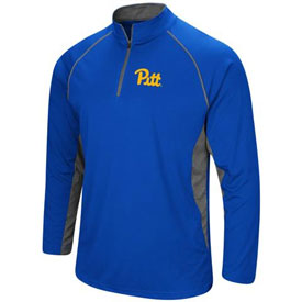 Pittsburgh Blank Rival Poly 1/4 Zip Pullover Jacket