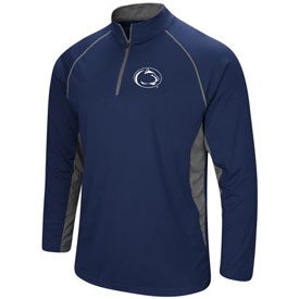 Penn State Blank Rival Poly 1/4 Zip Pullover Jacket