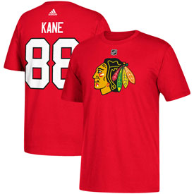 Chicago Blackhawks Adidas Patrick Kane Name and Number T-Shirt