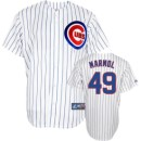 Chicago Cubs Carlos Marmol Youth Home Replica Jersey