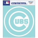 Chicago Cubs 8 x 8 Die Cut Decal