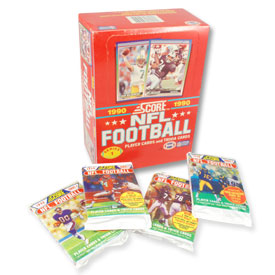1990 Score NFL Series 1 Football Card Set