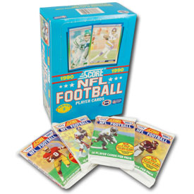 1990 Score NFL Series 2 Football Card Set