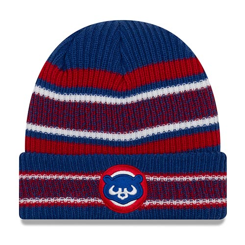 Chicago Cubs 84 New Era Stripe Cuffed Knit Hat 63735281ace