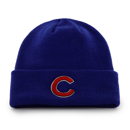 Chicago Cubs Primary Cuffed Knit Hat ff4ce2556f1