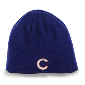 Chicago Cubs Primary Beanie knit hat