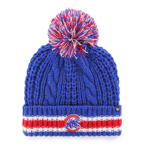 ccaf4416d13 ... coupon code chicago cubs ladies sorority cuffed knit hat f0860 94732  italy womens chicago cubs new era gray ...