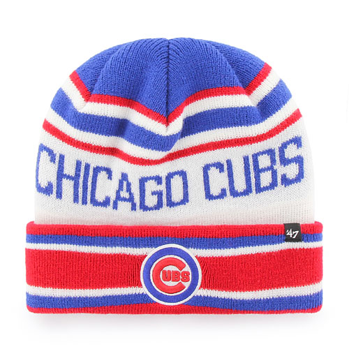 Chicago Cubs Offside Cuffed Knit Hat e581f5567e5
