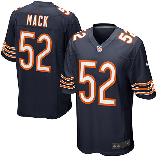 save off 7fc84 34ac7 Chicago Bears Khalil Mack Game Team Color Jersey