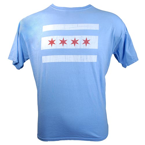 Chicago Flag Dyed Tee