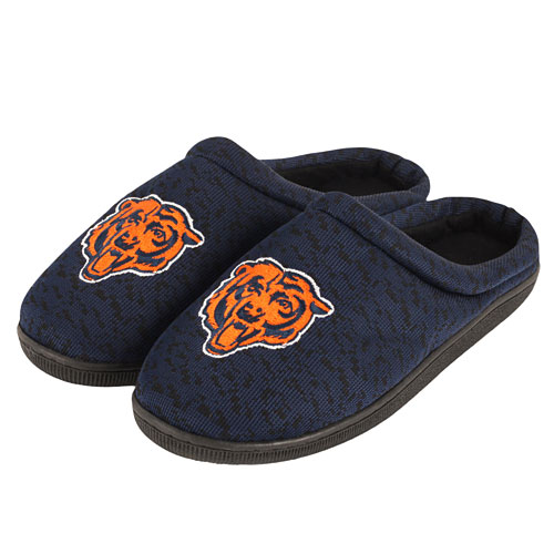 2bdc5603 Chicago Bears Poly Knit Sole Slide Slippers
