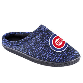 Chicago Cubs Poly Knit Sole Slide Slippers
