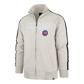 Chicago Cubs Striker Sandstone track jacket