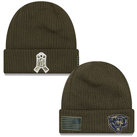 222974ee748a10 ... release date coupon for chicago bears 2018 salute to service knit cap  479e9 15ec5 c9910 251e8
