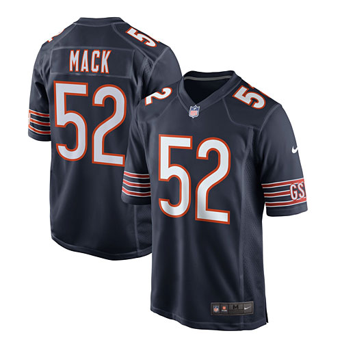 the latest 028c6 9c8e0 Chicago Bears Khalil Mack Youth Nike Game Replica