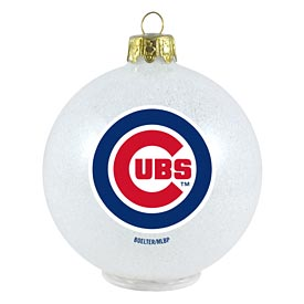 Chicago Cubs LED Color Changing Ornament