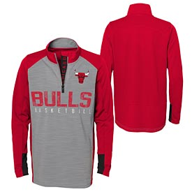 Chicago Bulls Youth Shooter 1/4 Zip Pullover
