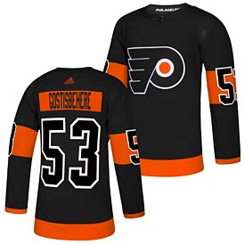 Philadelphia Flyers Shayne Gostisbehere adidas Alternate Authentic Player Jersey – Black