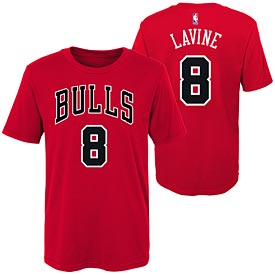 Zach Lavine Youth Name and Number Tee