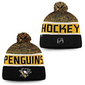 various colors 8c7c5 ef59e Pittsburgh Penguins Fanatics Branded Authentic Pro Rinkside Goalie Cuffed  Knit Hat With Pom