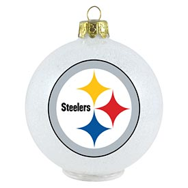 Pittsburgh Steelers LED Color Changing Ornament