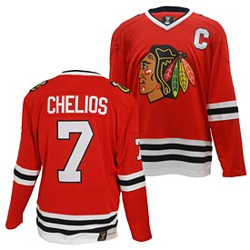 Chicago Blackhawks Chris Chelios Vintage Breakaway Jersey