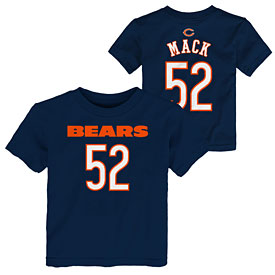 Chicago Bears Khalil Mack Preschool Name and Number Tee