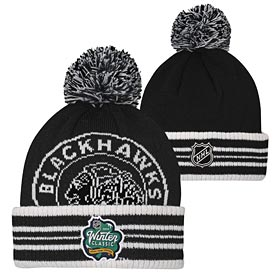 Chicago Blackhawks Youth 2019 Knit Pom