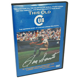 Chicago Cubs Ron Santo Autographed This Old Cub DVD