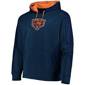 Chicago Bears Armor Pullover Hooded Sweatshirt