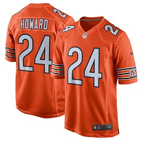 Chicago Bears Jordan Howard Game Alt Color Jersey
