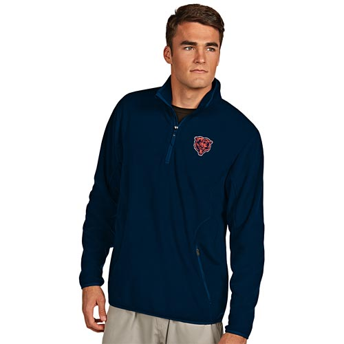 Chicago Bears Bear Head Logo Ice Pullover Sweat