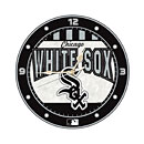 Chicago White Sox 12-Inch Art Glass Clock