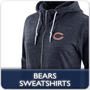Chicago Bears Sweatshirts and Polar Fleece