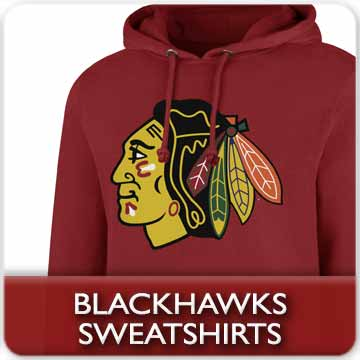Chicago Blackhawks Sweatshirts and Polar Fleece