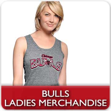 Chicago Bulls Ladies Merchandise!