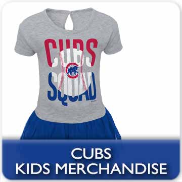 Click for Chicago Cubs Kids Gear!